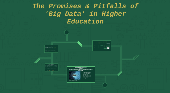 Promises and pitfalls of big data in higher education